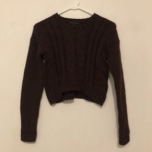 Lucca Couture Crop Sweater
